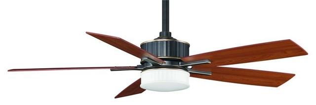 Ceiling Fan 60: Fanimation FPD8087BA 60 Inches Ceiling Fan Landan Collection contemporary- ceiling-fans,Lighting
