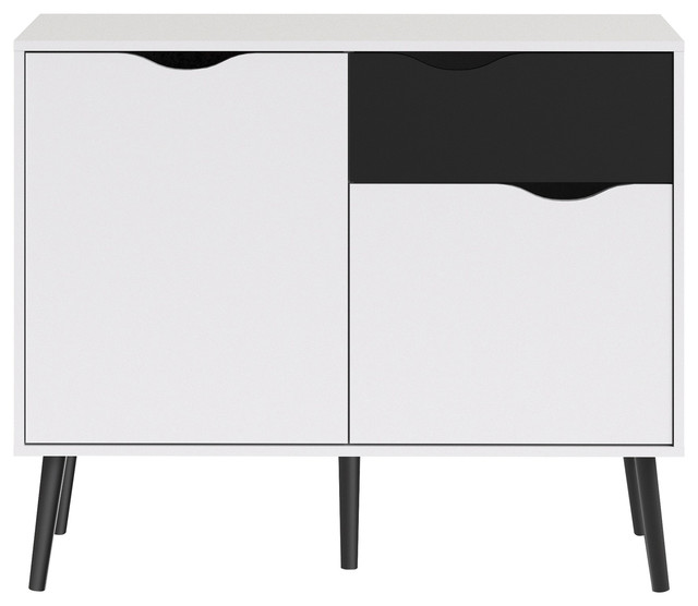Diana Sideboard With 2 Doors And 1 Drawer.
