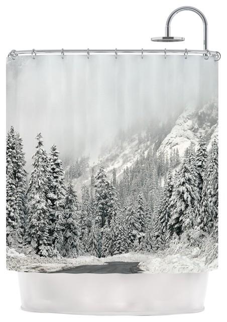 Robin Dickinson Quot Winter Wonderland Quot White Gray Shower