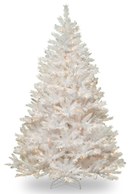 Winchester White Pine Tree With Clear Lights, 6.5'