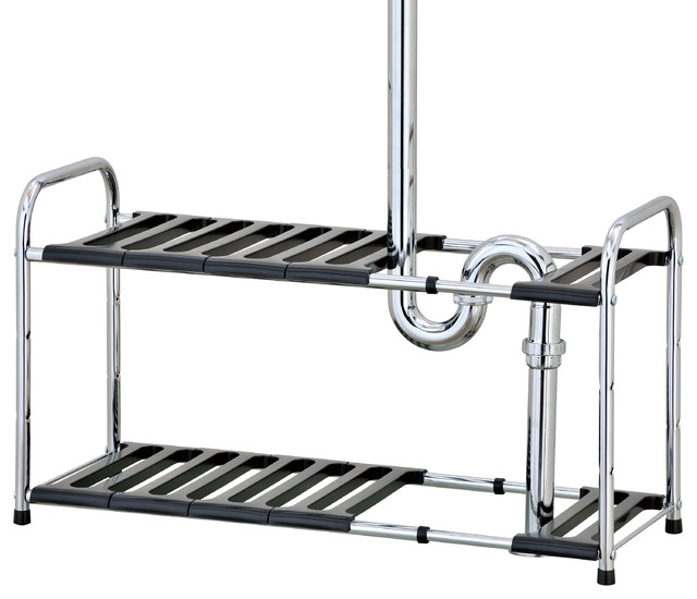 Pingree 2-Tier Sink Storage Shelf.