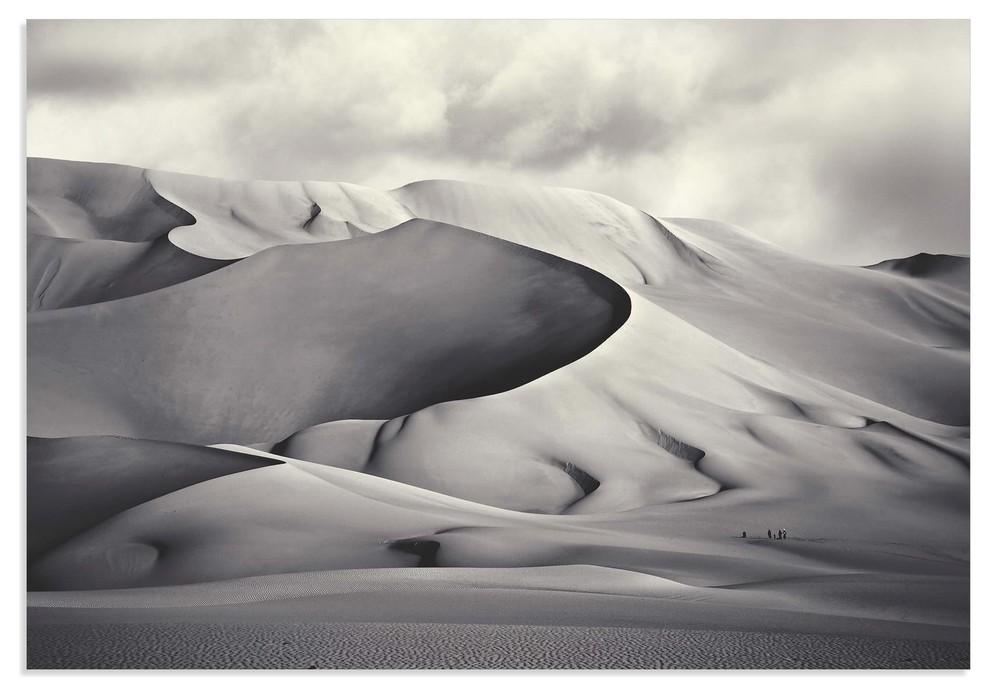 Monochrome African Landscape Photography Home Decor Fine Art Photography Large Sepia Desert Art