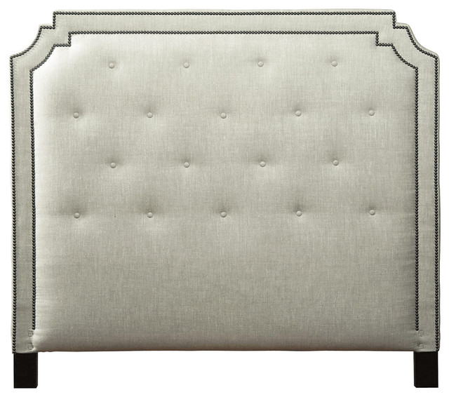 kathy kuo home miller hollywood regency fawn upholstered queen, Headboard designs