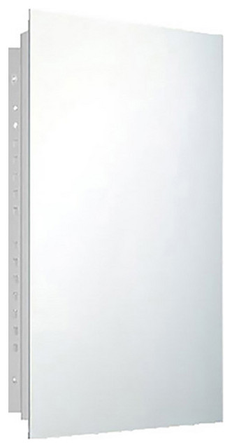 """Residential Series Medicine Cabinet, 16""""x26"""", Polished Edge, Recessed"""