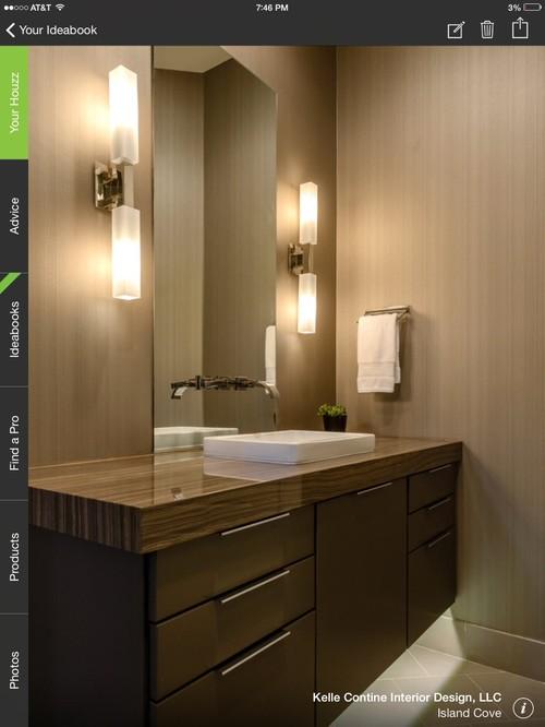 Mirror Behind Wall Mounted Bathroom Faucet. Good Or Bad Idea?