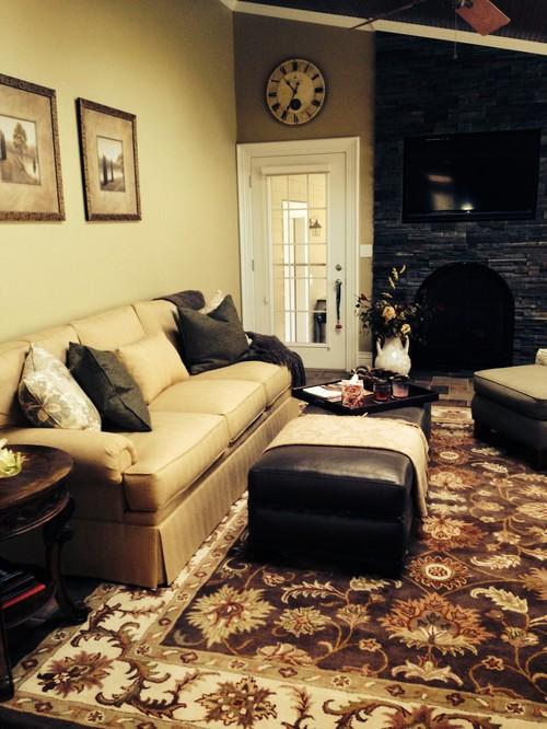 Need ideas for art over sofa