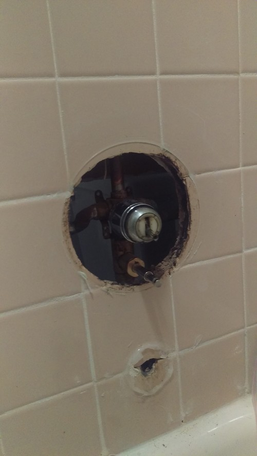 Help Replacing Bathtub Faucet/Diverter Valve
