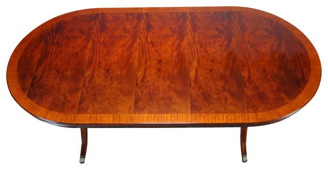 Round Mahogany Dining Table 60 X115