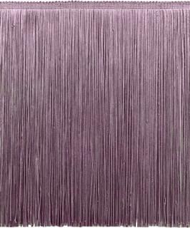 - D7 Light Purple D/ÉCOPRO 8 Inch Chainette Fringe Trim Style# CF08 Color: Lilac Sold by The Yard