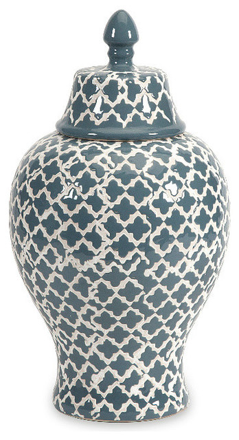 layla small urn transitional decorative jars and urns - Decorative Urns