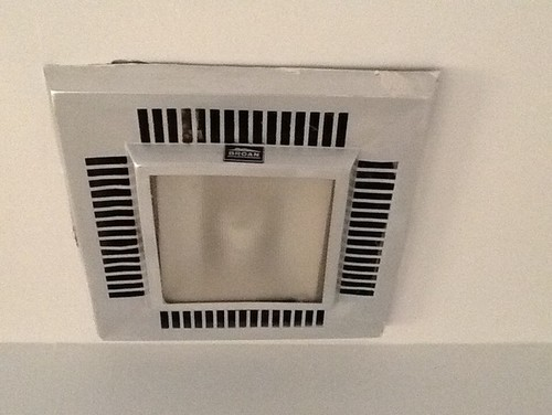 Easy replacement for an old bathroom ventilation fan