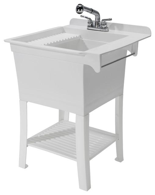 ... Houzz Cashel Maddox Workstation Sink Kit, 25.75