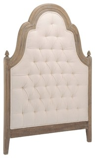 Wood Upholstered Headboard, Twin
