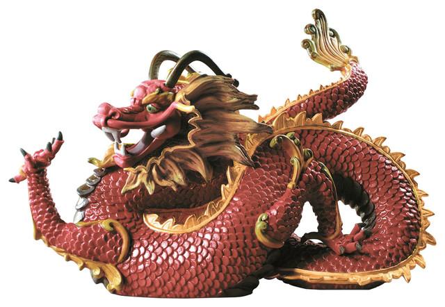 Majestic Dragon Figurine