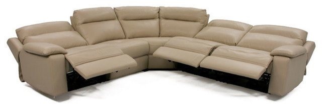 Dawson Power Reclining Sectional contemporary-living-room  sc 1 st  Houzz & Dawson Power Reclining Sectional - Contemporary - Living Room ... islam-shia.org