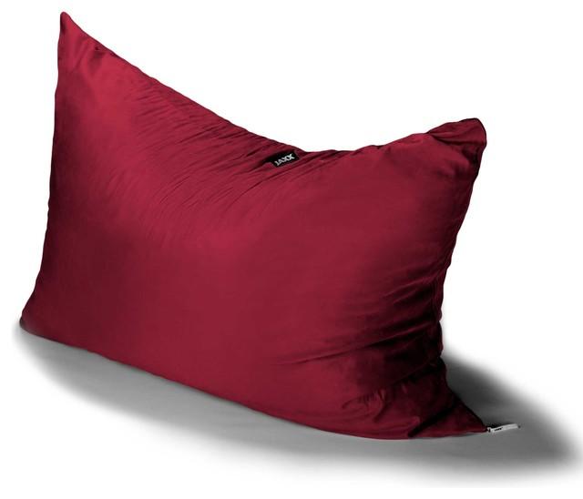 Jaxx Pillow Saxx 3.5u0027 Kids Bean Bag, Cherry Contemporary Bean Bag