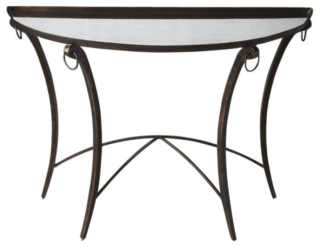 Butler Specialty Metalworks Marilyn Demilune Console Table
