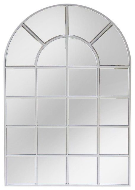 Arch Wall Mirror abbyson living spectrum wall mirror, silver - wall mirrors -