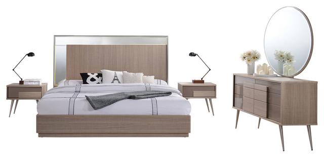 Mid Century Modern Bedroom Furniture Set Hobbiesxstyle