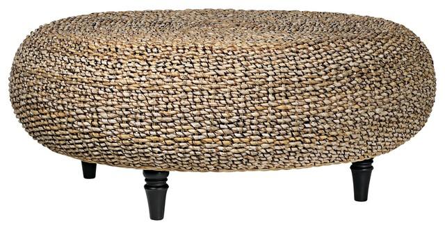 Trend Riau Woven Fiber Round Coffee Table