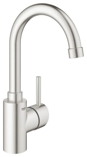 Grohe 31 518 Concetto 1.5 GPM Bar Faucet With SilkMove