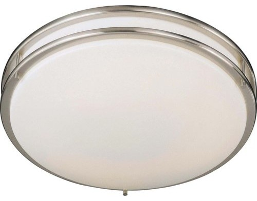 Minka Lavery 861 84 Pl 1 Light 18 Quot W Fluorescent Flush