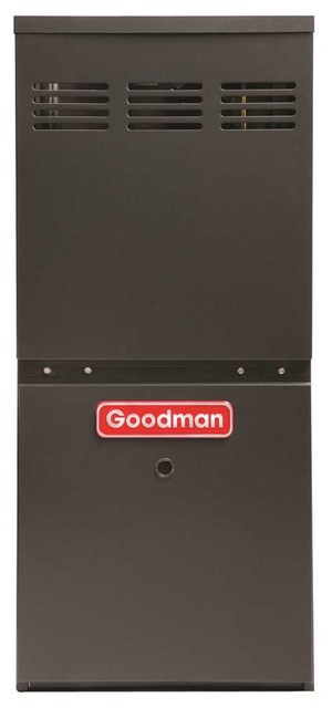 Goodman Gas Furnace, 80% Afue, 60,000 Btu, 3.0 Ton, Dual Saver, Gmh80603an.