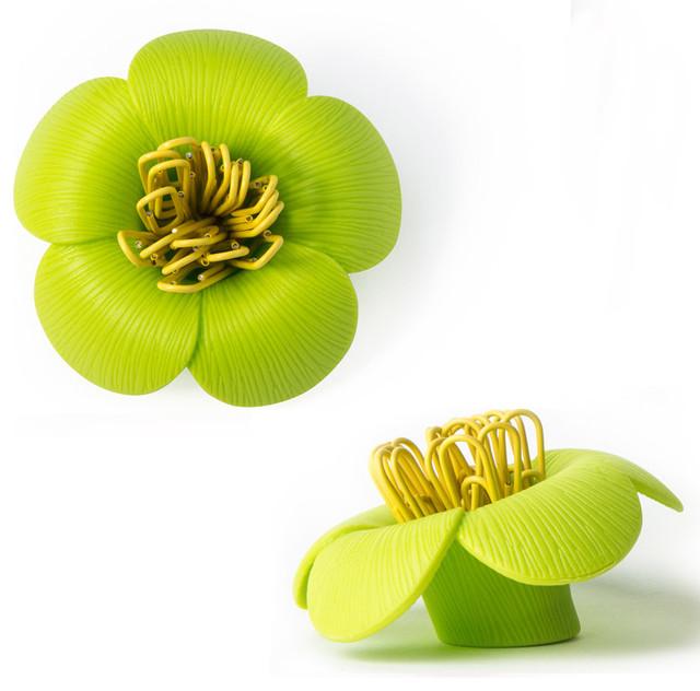 Магнит для скрепок Blossom зеленый