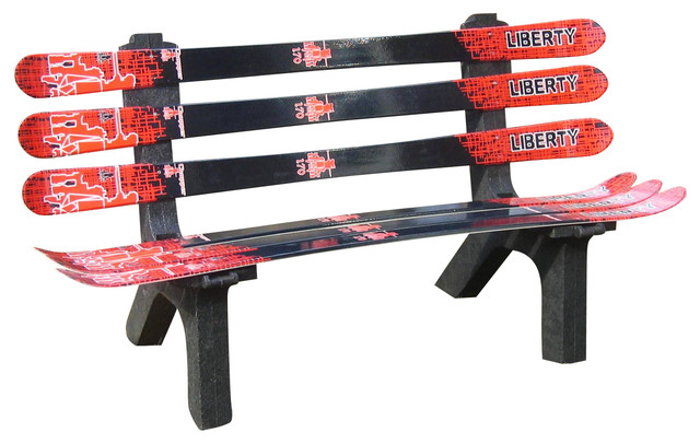 Snow Ski Bench Indoor Benches By Skichair1