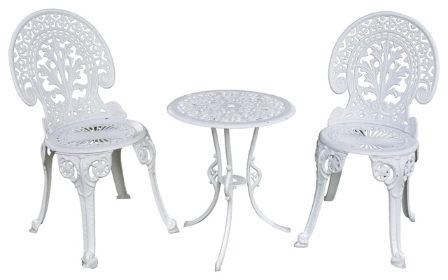 Shop Houzz Pier Surplus Angel White Garden Bistro Set