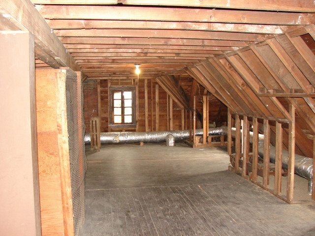 Attic Renovation Before