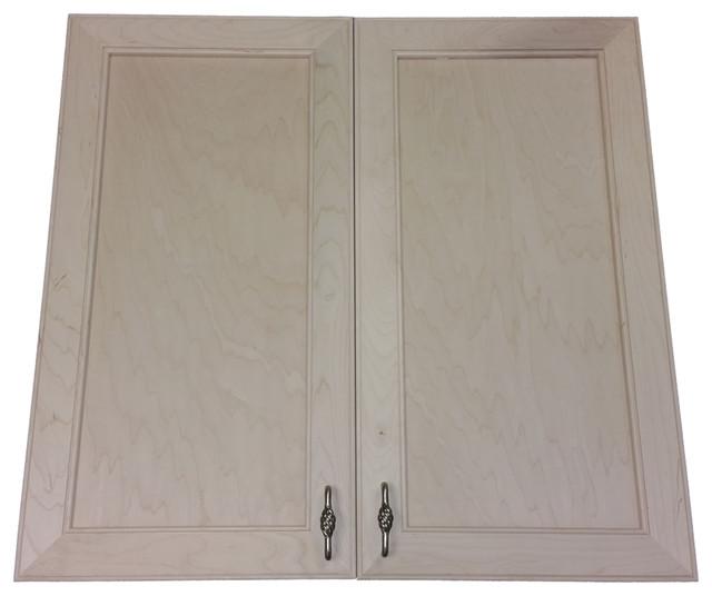 "24"" High Village Bch Recessed, Double Door Frameless Medicine Cabinet ..."
