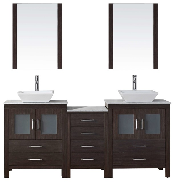 66 bathroom vanity cabinet 66 quot bathroom vanity cabinet set modern 10345
