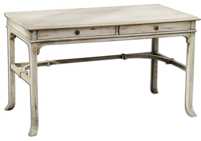 Uttermost Bridgely Aged Writing Desk.