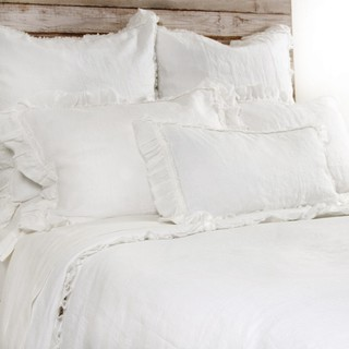 Mathilde Cream Euro Sham Pillowcases And Shams By