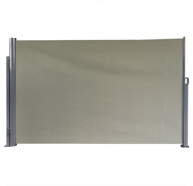 Sunnydaze Indoor/outdoor Retractable Privacy Wall Side Awning.