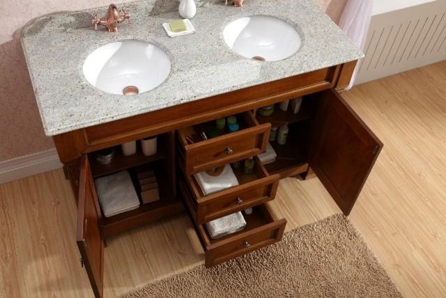 Freestanding Double Basin Bathroom Vanity   Taurus 1400 Traditional Bathroom  Vanities And  Part 72