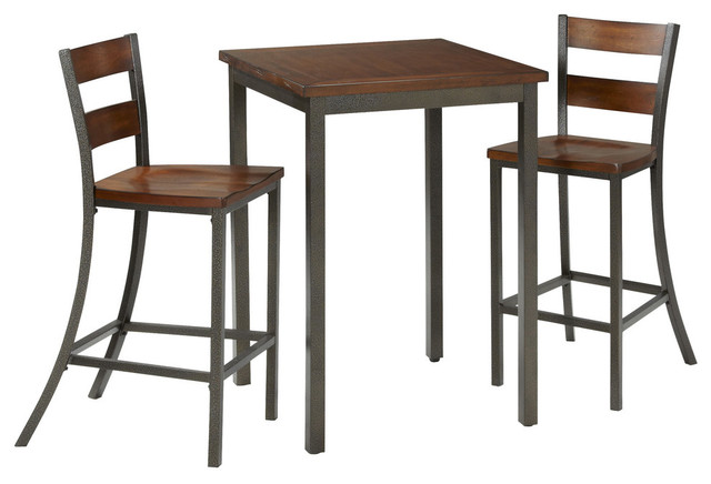 Home Styles - Cabin Creek 3-Piece Bistro Set & Reviews | Houzz