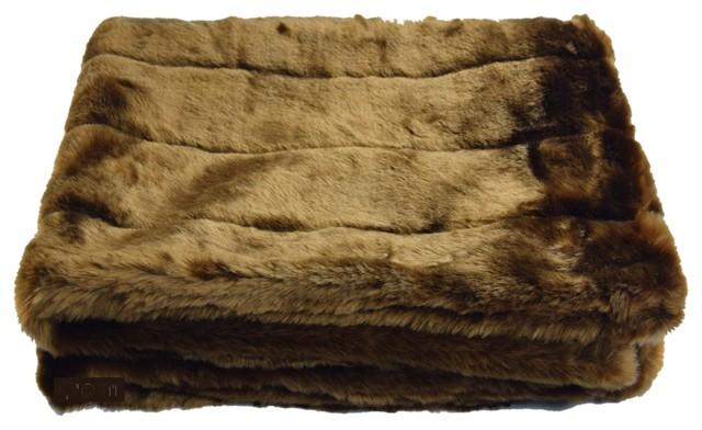 Tiger Dreamz Pet Blanket Caramel Cocoa
