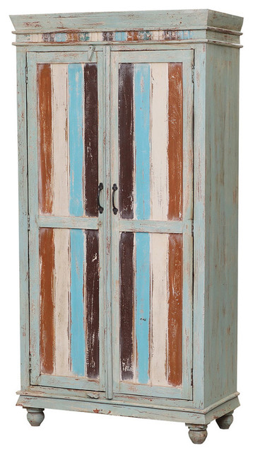 Rolette Reclaimed Wood Furniture Rustic, Rustic Storage Cabinets