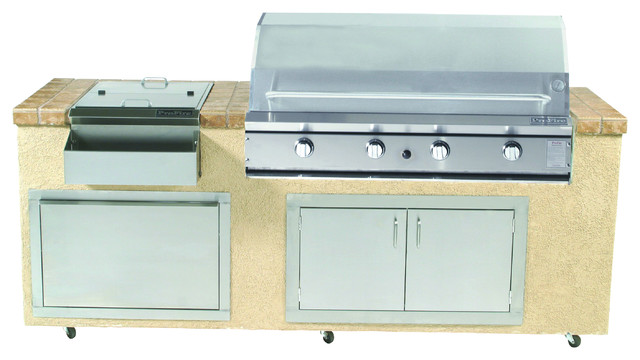 "48"" Natural Gas Hybrid Grill With 966 Sq."" Cooking Area."