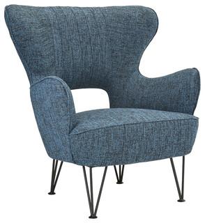 Shelter Armchair, Dark Blue