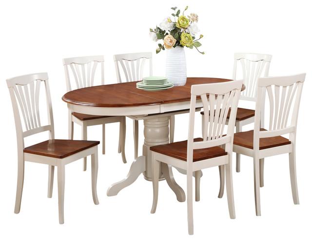 7-Piece Oval Dining Set.