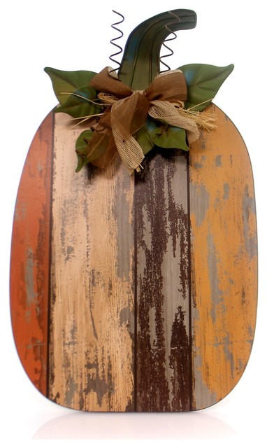 Home Decor Wood Slat Pumpkin Wood Thanksgiving Fall 9728581 Large.