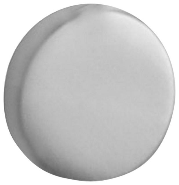 "Traditional 1.38"" Length Knob With Polished Nickel"