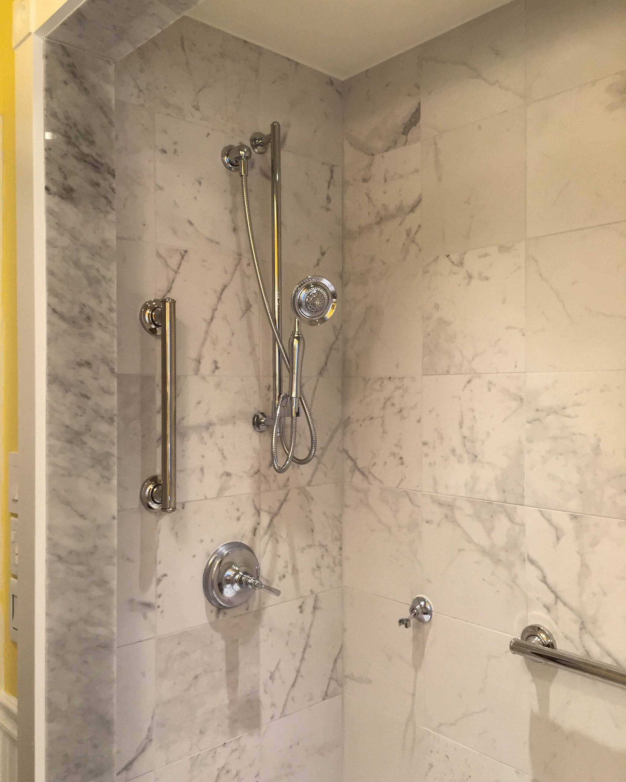 """A new """"handicapped"""", shower for Phil"""