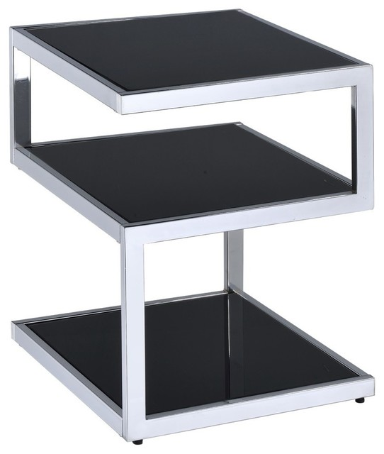 Acme Alyea End Table Contemporary Side Tables And End