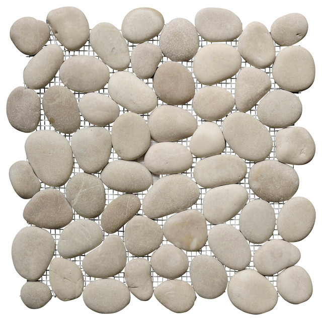 Island Stone Perfect Pebble Tile 12x12 Mosaic Tile