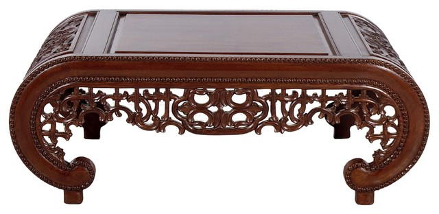 Wooden Carved Chinese Design Coffee Table