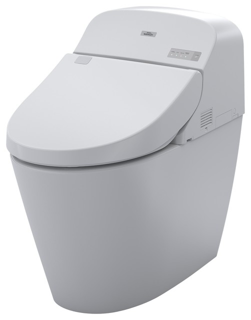 Toto MS920CEMFG G400 Elongated Dual Flush Toilet - Contemporary ...